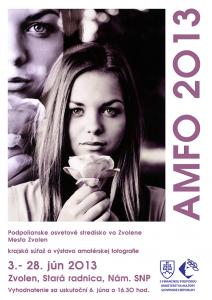 Výstava fotografií krajského kola celoslovenskej súťaže amatérskej fotografie AMFO 2013